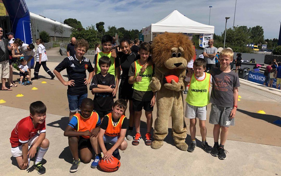 Le Club présent pour le Vital'Sport du Décathlon de Bry Sur Marne