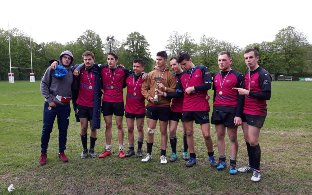 Tournoi juniors de rugby à 7 à Coulommiers